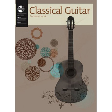 AMEB CLASSICAL GUITAR TECHNICAL WORKBOOK CURRENT EDITION