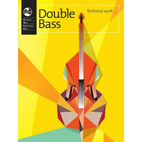 AMEB DOUBLE BASS TECHNICAL WORKBOOK CURRENT EDITION