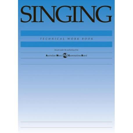 AMEB SINGING TECHNICAL WORKBOOK 1998 EDITION