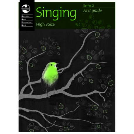 AMEB SINGING SERIES 2 FIRST GRADE 1 HIGH VOICE