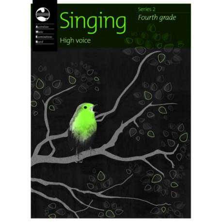 AMEB SINGING SERIES 2 FOURTH GRADE 4 HIGH VOICE