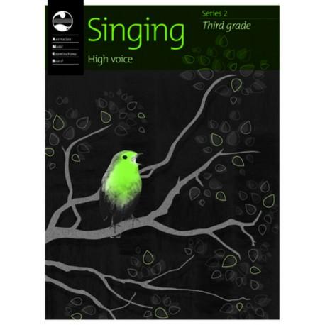 AMEB SINGING SERIES 2 THIRD GRADE 3 HIGH VOICE