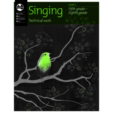 AMEB SINGING TECHNICAL WORK BOOK LEVEL 2 FIFTH GRADE 5 TO EIGHTH GRADE 8