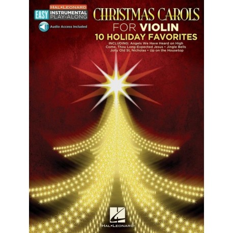 EASY CHRISTMAS CAROLS FOR VIOLIN PLAY ALONG CHRISTMAS SONGS WITH ONLINE AUDIO