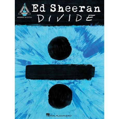 ED SHEERAN DIVIDE GUITAR TAB RECORDED VERSIONS MUSIC SONG BOOK