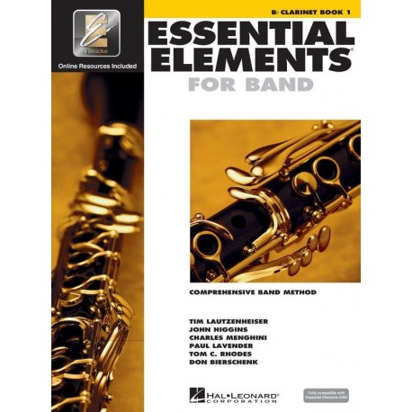 ESSENTIAL ELEMENTS 2000 BAND METHOD BOOK 1 - Bb CLARINET WITH EE INTERACTIVE