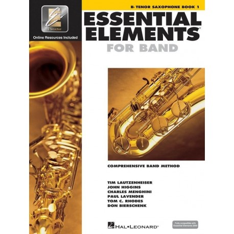 ESSENTIAL ELEMENTS 2000 BAND METHOD BOOK 1 - TENOR SAXOPHONE with EEi