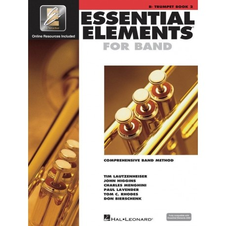 ESSENTIAL ELEMENTS 2000 BAND METHOD BOOK 2 - Bb TRUMPET WITH EE INTERACTIVE