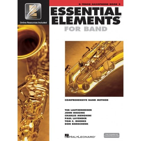 ESSENTIAL ELEMENTS 2000 BAND METHOD BOOK 2 - TENOR SAXOPHONE WITH EEi