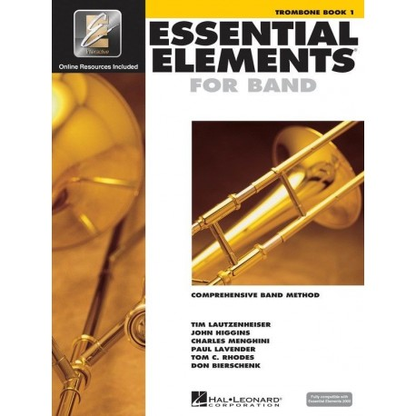 ESSENTIAL ELEMENTS BAND METHOD BOOK 1 - TROMBONE WITH EE