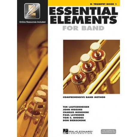 ESSENTIAL ELEMENTS FOR BAND BOOK 1 - Bb TRUMPET - EE INTERACTIVE