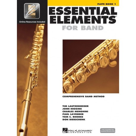 ESSENTIAL ELEMENTS FOR BAND BOOK 1 - FLUTE - EE INTERACTIVE