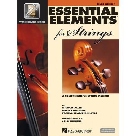 ESSENTIAL ELEMENTS FOR STRINGS BOOK 1 CELLO WITH EE INTERACTIVE