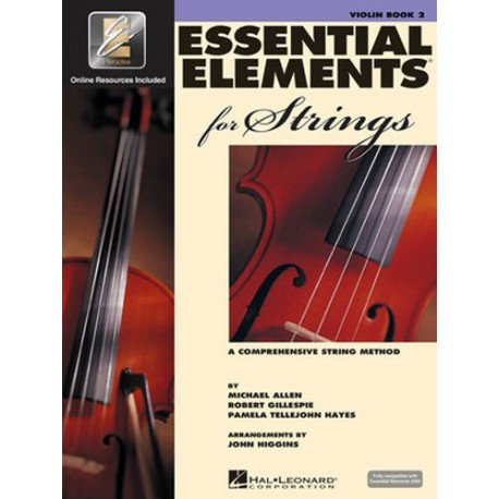 ESSENTIAL ELEMENTS FOR STRINGS BOOK 2 - VIOLIN WITH EE INTERACTIVE