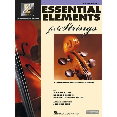 ESSENTIAL ELEMENTS FOR STRINGS BOOK 2 CELLO WITH EE INTERACTIVE