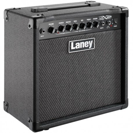 "LANEY LX SERIES LX20R 20 WATT GUITAR AMPLIFIER. 1 x 8"" CUSTOM SPEAKER"