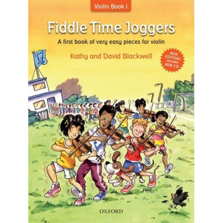 FIDDLE TIME JOGGERS BOOK & CD REVISED EDITION - KATHY & DAVID BLACKWELL