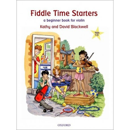 FIDDLE TIME STARTERS BOOK & CD NEW EDITION - KATHY & DAVID BLACKWELL