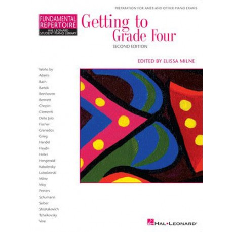 GETTING TO GRADE 4 FOUR - BOOK ONLY - MELISSA MILNE