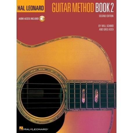 HAL LEONARD GUITAR METHOD BOOK 2 WITH ONLINE AUDIO - INTERNATIONAL BEST SELLER