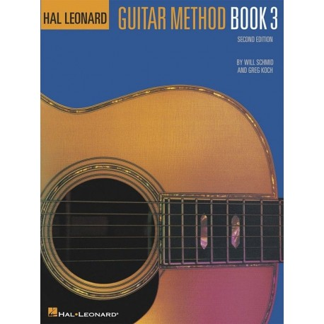 HAL LEONARD GUITAR METHOD BOOK 3 - EXPAND YOUR KNOWLEDGE AND TECHNIQUE
