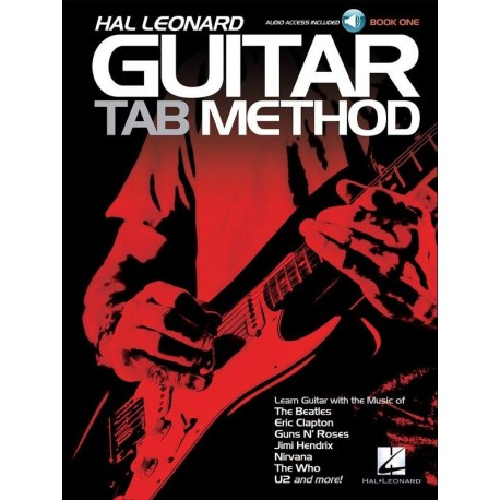 HAL LEONARD TAB GUITAR METHOD BOOK 1 - ONLINE AUDIO ACCESS.THE EASY WAY TO LEARN
