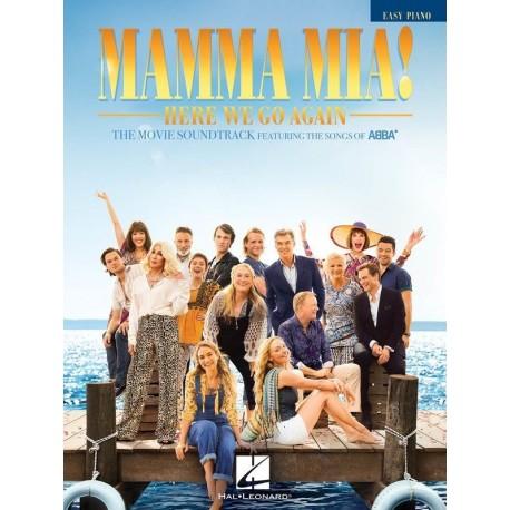 MAMMA MIA! HERE WE GO AGAIN ABBA SHEET MUSIC BOOK FOR EASY PIANO & VOCAL