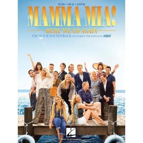 MAMMA MIA! HERE WE GO AGAIN ABBA SHEET MUSIC PVG BOOK FOR PIANO VOCAL GUITAR