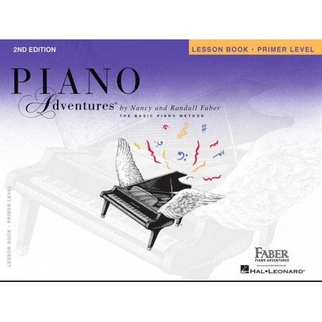 PIANO ADVENTURES PRIMER LEVEL - LESSON BOOK /CD 2ND EDITION - FABER