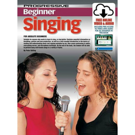 PROGRESSIVE BEGINNER SINGING TEACH YOURSELF HOW TO SING WITH ONLINE MEDIA