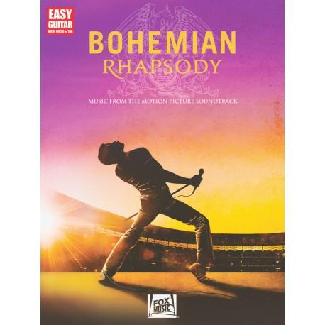 QUEEN BOHEMIAN RHAPSODY EASY GUITAR TAB SHEET MUSIC SONG BOOK *BRAND NEW*