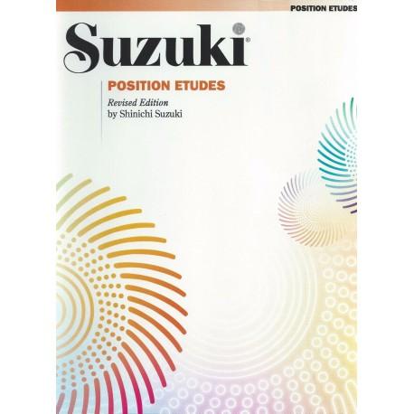 SUZUKI POSITION ETUDES – REVISED EDITION – SHINICHI SUZUKI