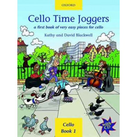 CELLO TIME JOGGERS BOOK & CD - BLACKWELL (LEVEL 1)
