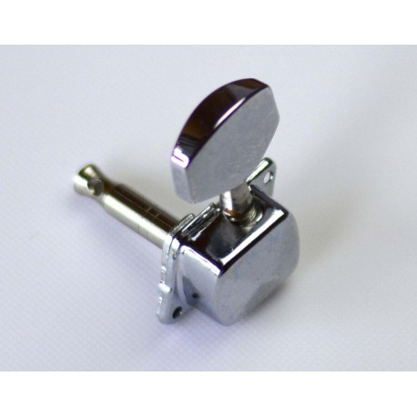 MACHINE HEADS 515 3-A-SIDE CHROME METAL BUTTONS
