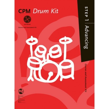 AMEB CPM DRUMS - Step 1 / ONE Advancing BOOK & CD