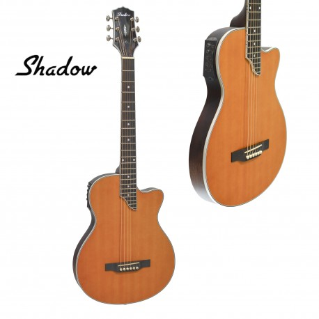 SHADOW JMCA44 STEEL STRING ELECTRIC /ACOUSTIC SOLID BODY GUITAR