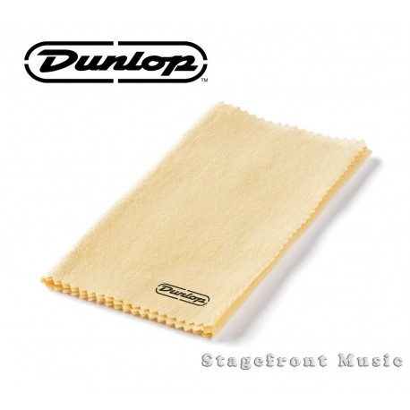 JIM DUNLOP GUITAR POLISH CLOTH SOFT LINT FREE MICROFIBER CLOTH J5400