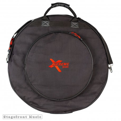 "CYMBAL BAG 24"" HEAVY DUTY WITH 3 DIVIDERS AND 16"" SIDE POCKET DA574"