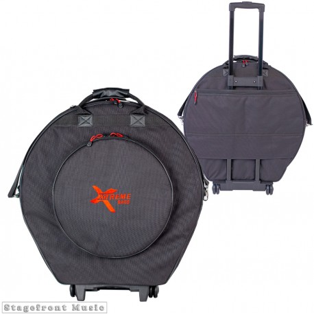 "CYMBAL BAG 22"" WITH WHEELS AND RETRACTABLE PULL-ALONG HANDLE DA584W"
