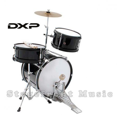 BASIX DRUM KIT METALLIC BLACK FINISH