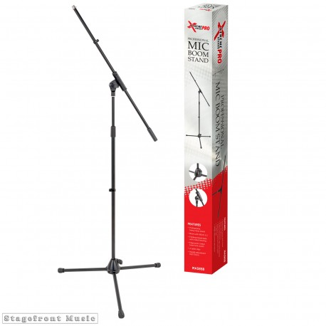 MICROPHONE BOOM STAND PROFESSIONAL HEAVY DUTY WITH METAL TWIST LOCK CLUTCH MA585B