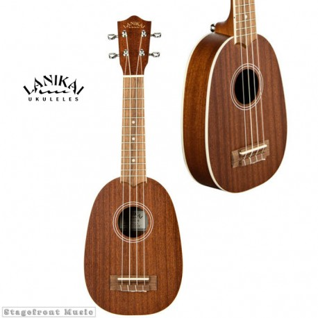 LANIKAI LMAP PINEAPPLE SOPRANO UKULELE WITH GIG BAG