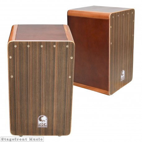 CAJON TOCA CORNER ACCENT BASS REFLEX WITH ADJUSTABLE FLAMENCO-STYLE SNARES -TOCTCAJCAM