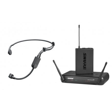 SHURE SVX14/PGA31 WIRELESS MIC SYSTEM WITH HEADSET AND BODYPACK