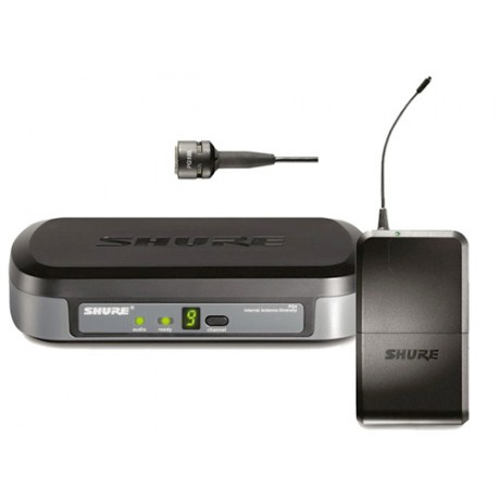 SHURE PG4 WIRELESS LAVALIER SYSTEM M10 (674-686 MHZ)