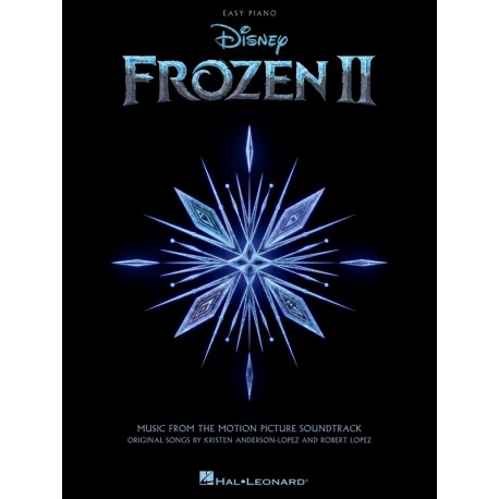 FROZEN II SHEET MUSIC FOR EASY PIANO MOTION PICTURE SOUNDTRACK