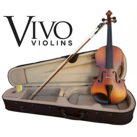 VIVO NEO STUDENT VIOLIN PACKAGE SOLID TOP OUTFIT WITH PRO SETUP