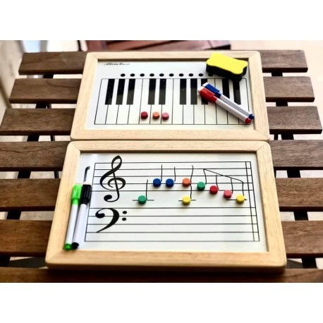 MUSIC MANUSCRIPT MAGNETIC WHITEBOARD PERFECT LEARNING TOOL FOR TEACHING