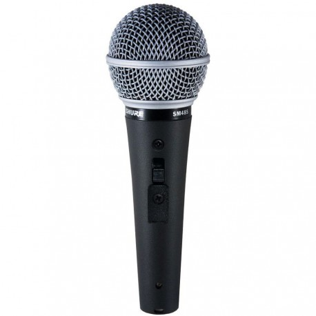SHURE SM48 DYNAMIC VOCAL MICROPHONE WITH SWITCH