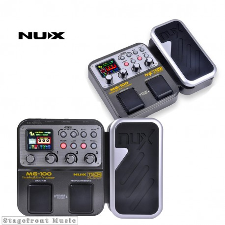 NUX MG-100 POWER GUITAR MULTI EFFECTS PEDAL PROCESSOR AMP 58 EFFECTS